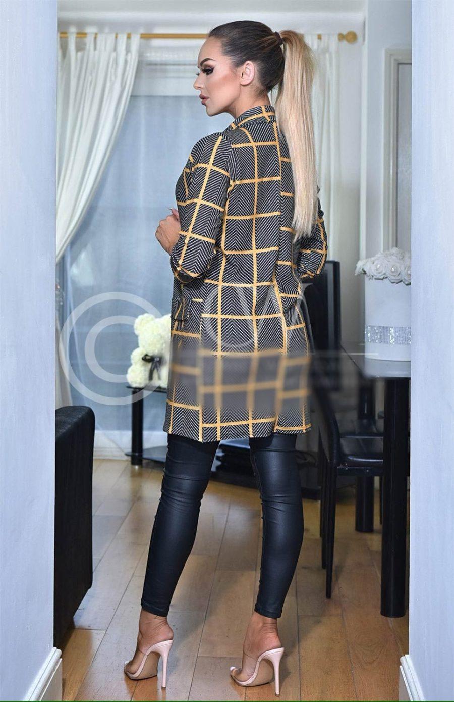 Long Jacket Valerie Grey
