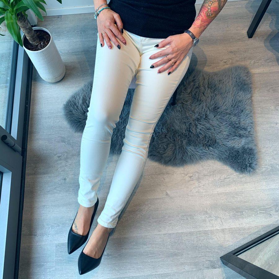 Jeans gebroken wit