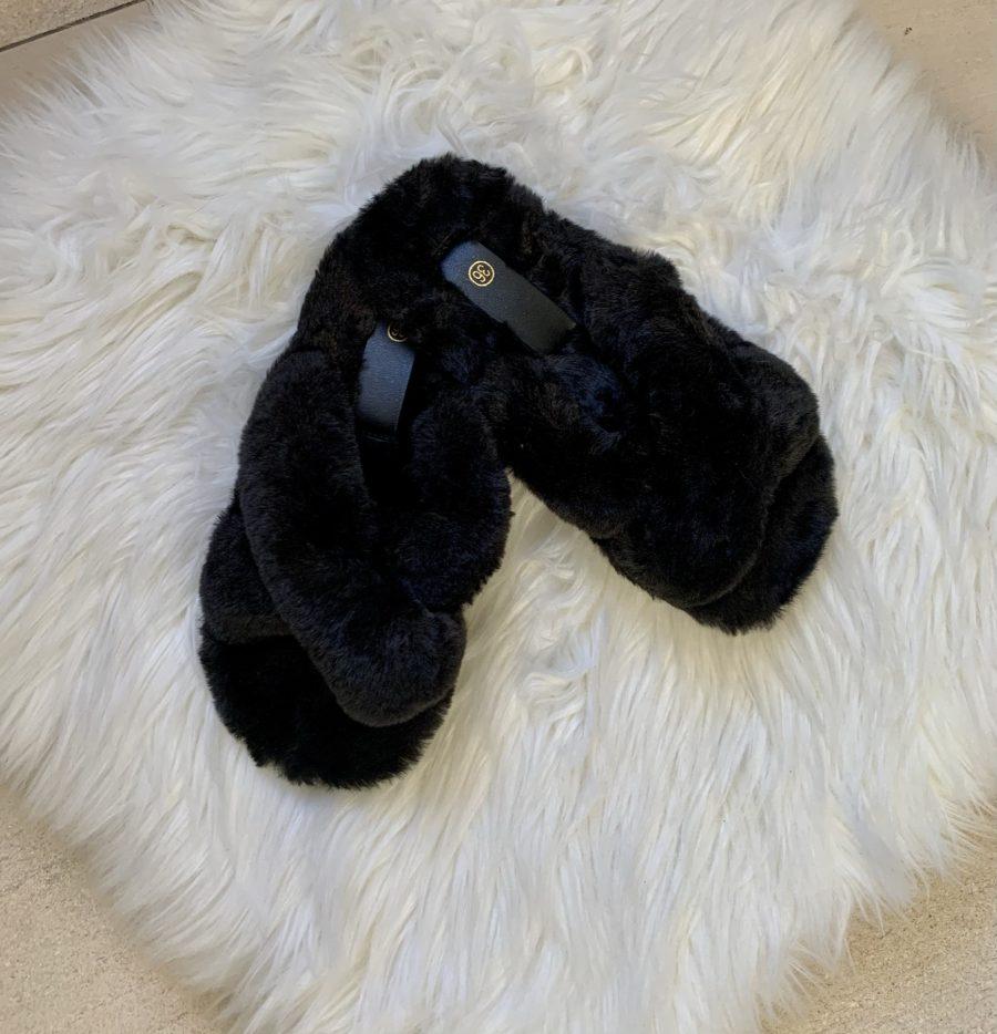 pantoffel X zwart