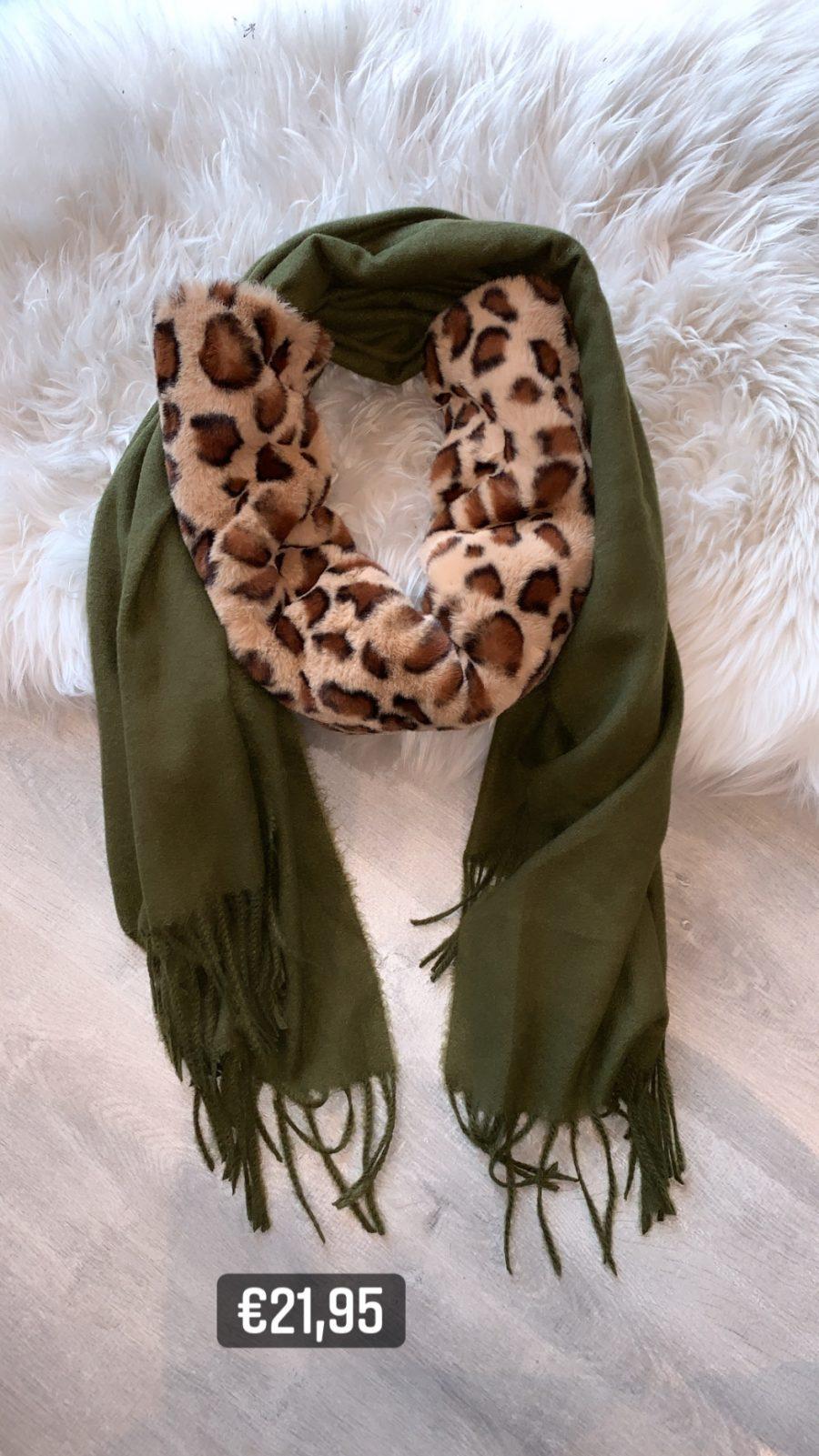 sjaal+acces groen
