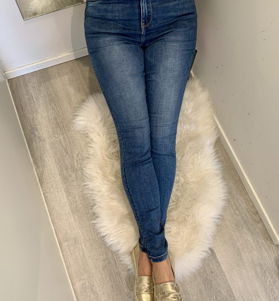 Jeans Hoge Taille