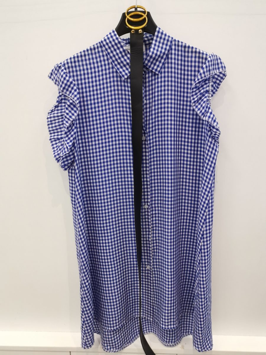 kleedje donna blauw