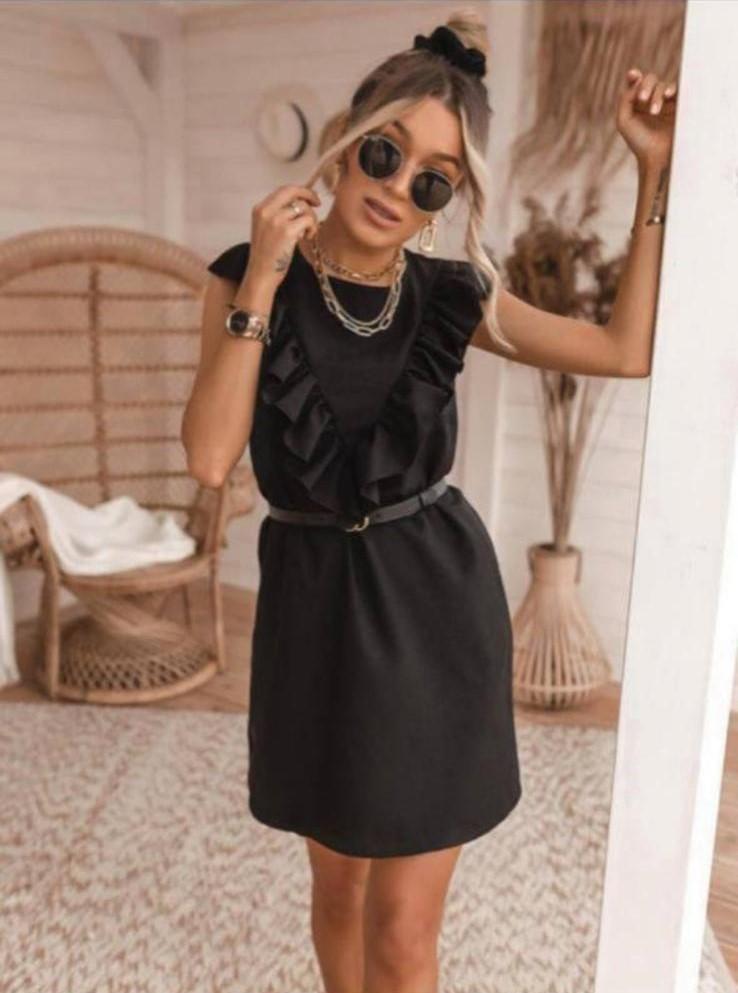 Zwart kleedje fr