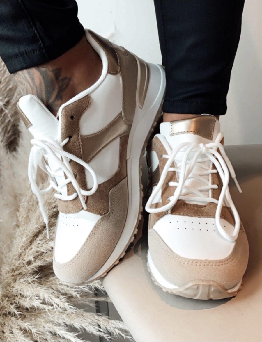 Sneaker Nele beige