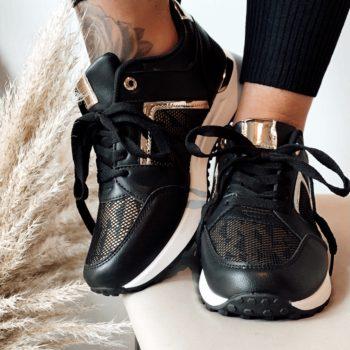 Sneaker MK zwart