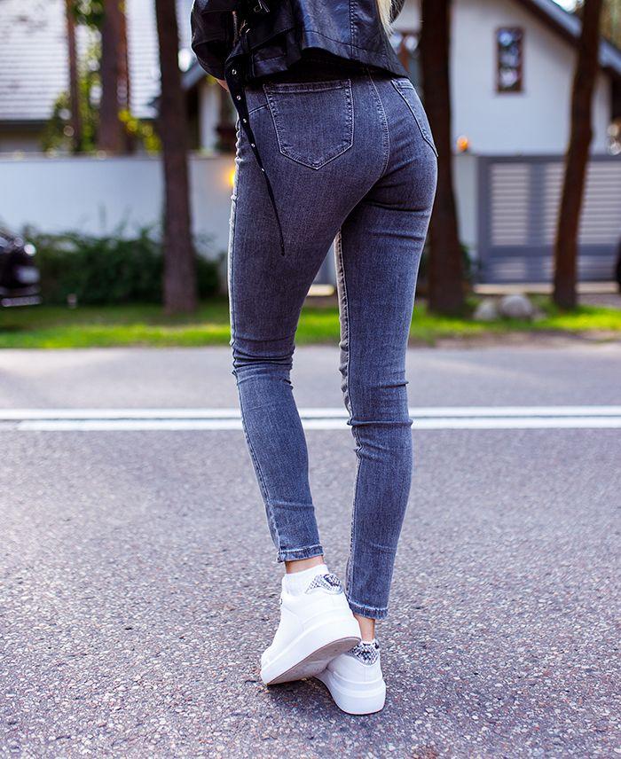 Jeans grijs 9306