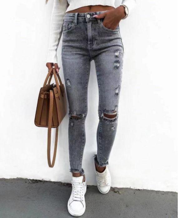jeans grijs 9312