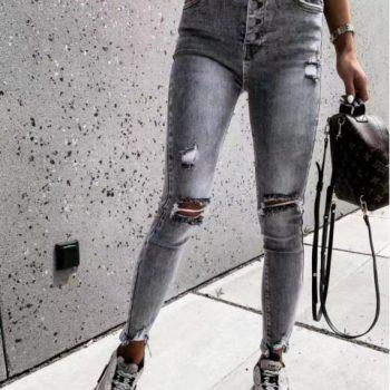 jeans grijs 9304
