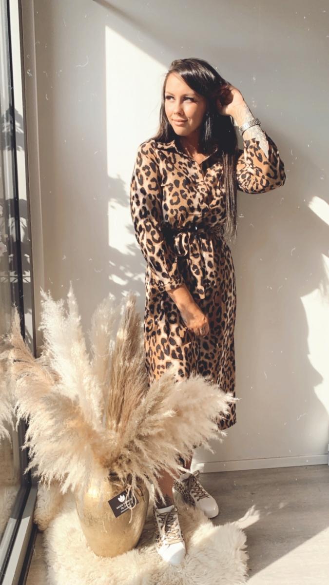 Lang kleedje tijger