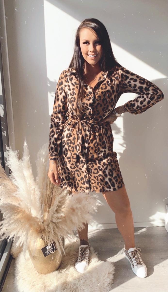 Kort kleedje tijger