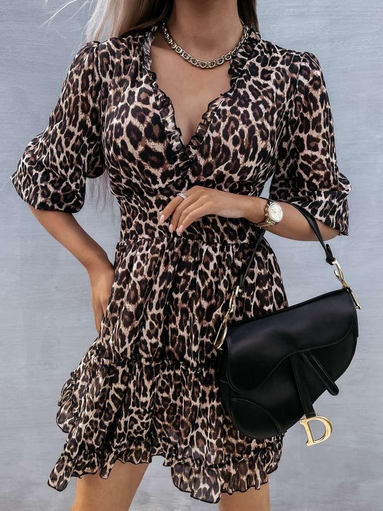 Kort kleedje tijger Silke