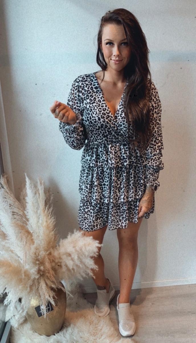 Kort kleedje tijger Anke